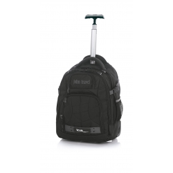 JOHN TRAVEL HOSTEL TROLLEY MOCHILA NEGRA