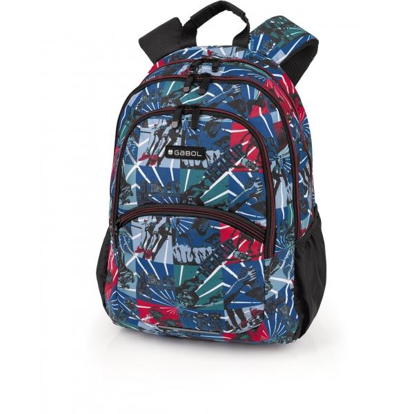Gabol Flip mochila backpack 2 dptos.