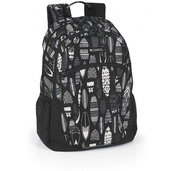 Gabol Hawai mochila adolescente backpack 2 dptos.