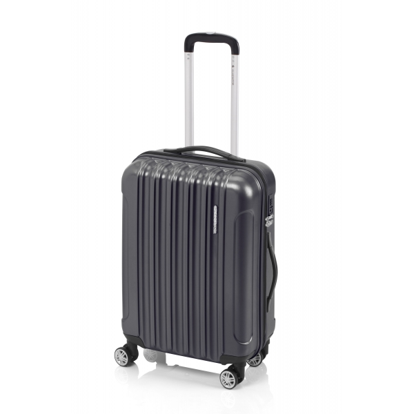 Gladiator Neon Matt maleta mediana gris