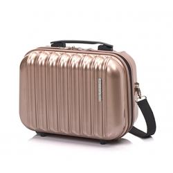 Gladiator Neon Lux saco cosmético rosa ouro