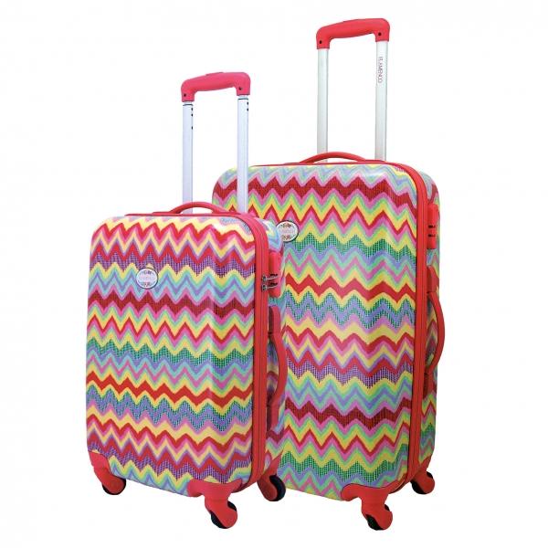 Flamenco Samba maleta cabina 4R -estampado