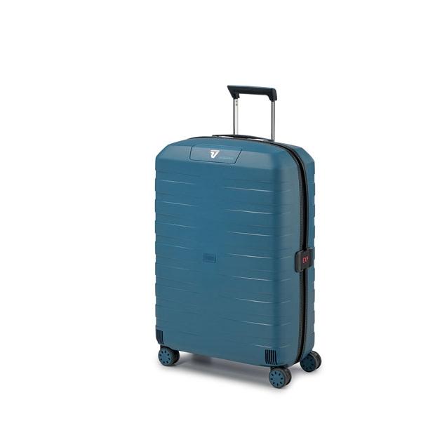 Roncato Box 4.0 maleta cabina 4R expandible - negro