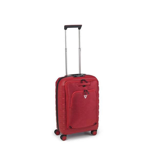 Roncato D-Box maleta cabina 4R-rojo