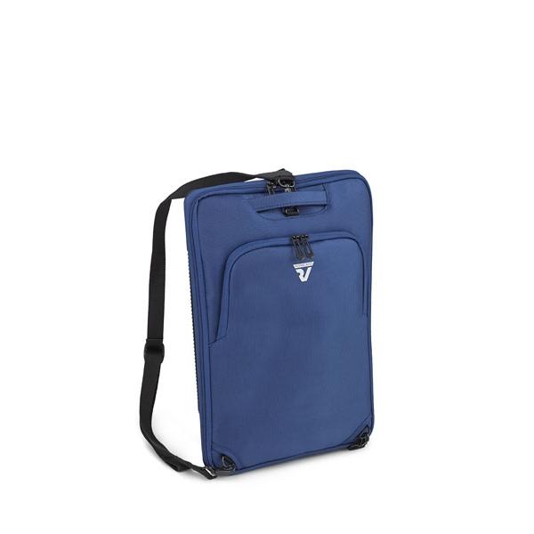 Roncato D-Box mochila adaptável a mala de cabine azul