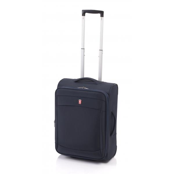 Gladiator Smart maleta cabina 2R extensible azul