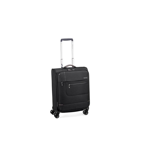 Roncato Sidetrack maleta cabina 4R expandible - negro