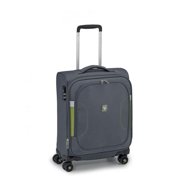 Roncato City Break maleta cabina expandible 4R - negro