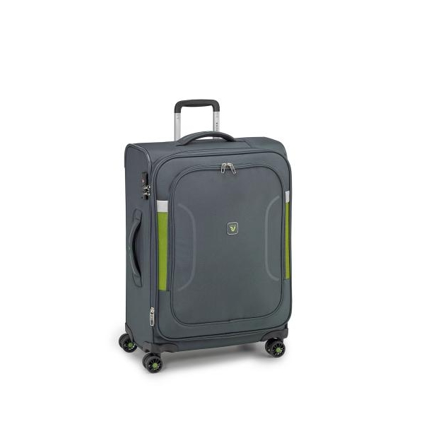 Roncato City Break maleta grande expandible 4R - negra