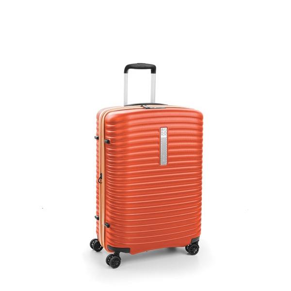 Roncato Modo Vega maleta mediana 4R expandible gris oscuro