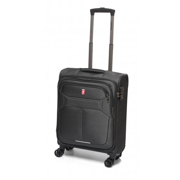 Gladiator Veyron Espresso maleta cabina 4R. gris oscuro