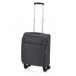 Gladiator Mondrian maleta cabina 4R extensible negro