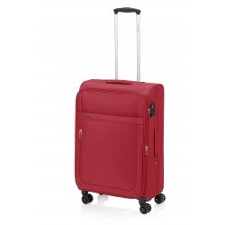 Gladiator Mondrian maleta grande 4R extensible rojo