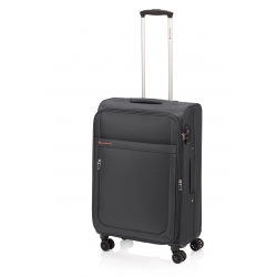 Gladiator Mondrian maleta grande 4R extensible negro