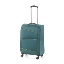 Gladiator Bel-air mala de cabine 4R extensível verde