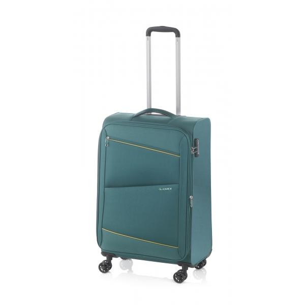 Gladiator Bel-air maleta cabina 4R extensible verde