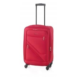 Gladiator Timelapse maleta mediana 4R extensible rojo