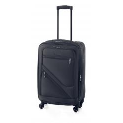 Gladiator Timelapse maleta mediana 4R extensible negro