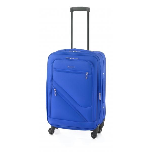 Gladiator Timelapse maleta grande 4R extensible azul