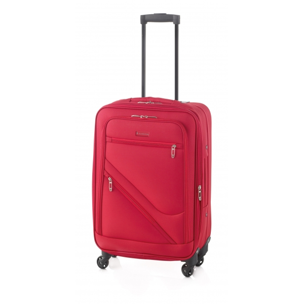 Gladiator Timelapse maleta grande 4R extensible rojo