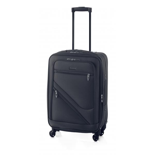 Gladiator Timelapse maleta grande 4R extensible negro