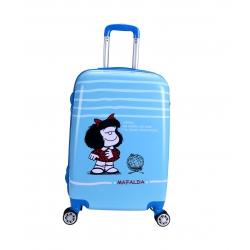 Mafalda Sky maleta cabina 4R azul