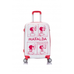 Mafalda Comic maleta cabina 4R