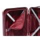 Gladiator Neon Matt maleta cabina burdeos