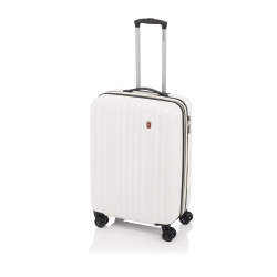 Gladiator Zebra maleta cabina 4R - blanca