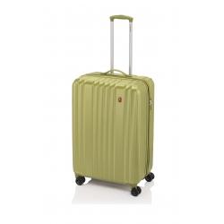 Gladiator Zebra maleta cabina 4R - verde