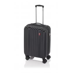 Gladiator Zebra maleta cabina 4R - negro
