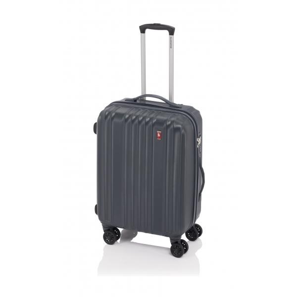 Gladiator Zebra maleta mediana expandible 4R- gris