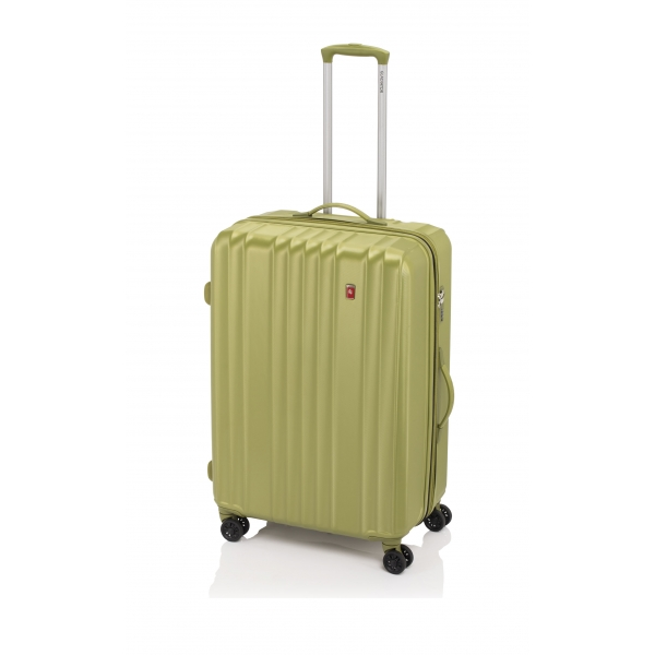 Gladiator Zebra maleta grande expandible 4R- verde