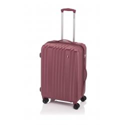 Gladiator Zebra maleta grande expandible 4R- rosa