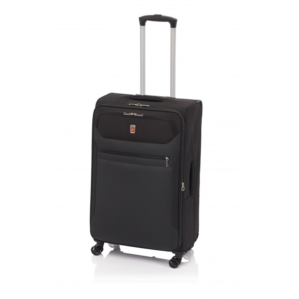 Gladiator 3D maleta mediana expandible 4R - negro