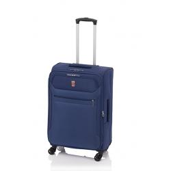 Gladiator 3D maleta grande expandible 4R - azul