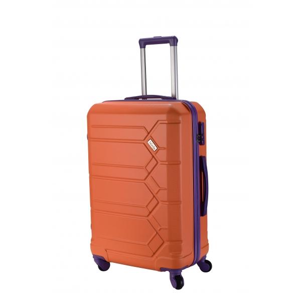 Talento Soul maleta mediana 4R - marino-naranja