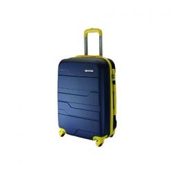 Talento Rap maleta cabina 4R - marino-amarillo