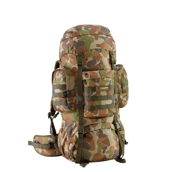 Caribee Platoon 70 mochila grande camuflagem