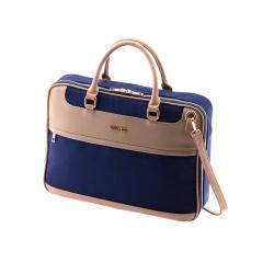 Vogart Élite cartera portátil azul-beige