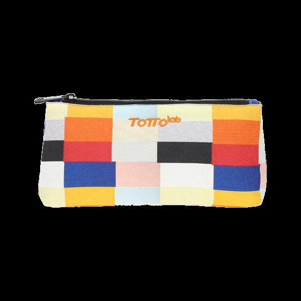Totto - Estuche diseño exclusivo - Rectángulos color