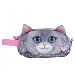 Totto - Estuche escolar dos compartimentos - Meow