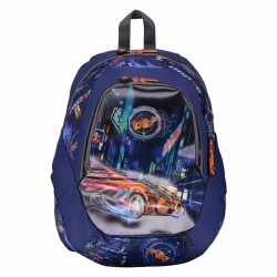 Totto - Mochila escolar grande - Tuning Car