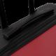 Totto - Maleta trolley mediana rojo/negro - Bazy