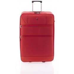 Gladiator Metro maleta grande expandible 2R - rojo