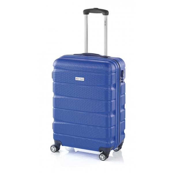 John Travel Double maleta cabina 4R azul