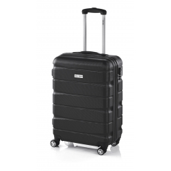 John Travel Double2 maleta cabina 4R negro