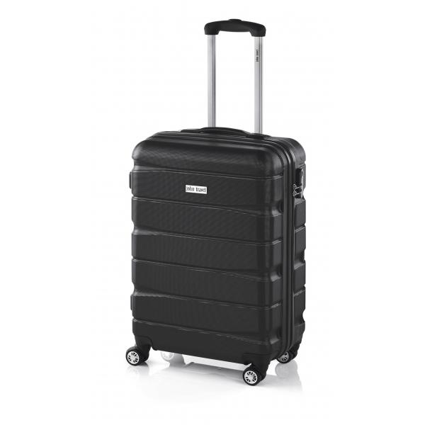 John Travel Double2 maleta cabina 4R negro