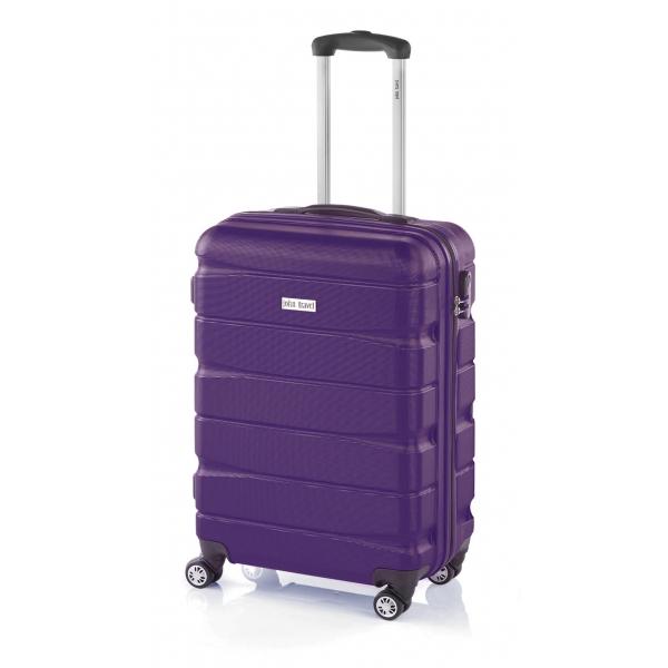 John Travel Double2 maleta cabina 4R lila