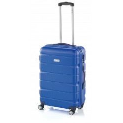 John Travel Double2 maleta mediana 4R azul
